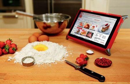 Tablette Tactile Pour Cuisine Tablette Pour Cuisiner